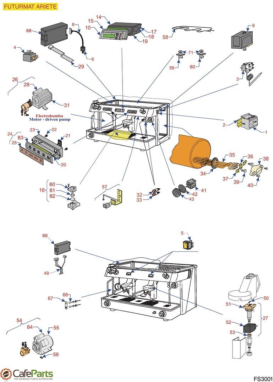 FS3001 futurmat electrical parts ariete cafeparts com  at soozxer.org