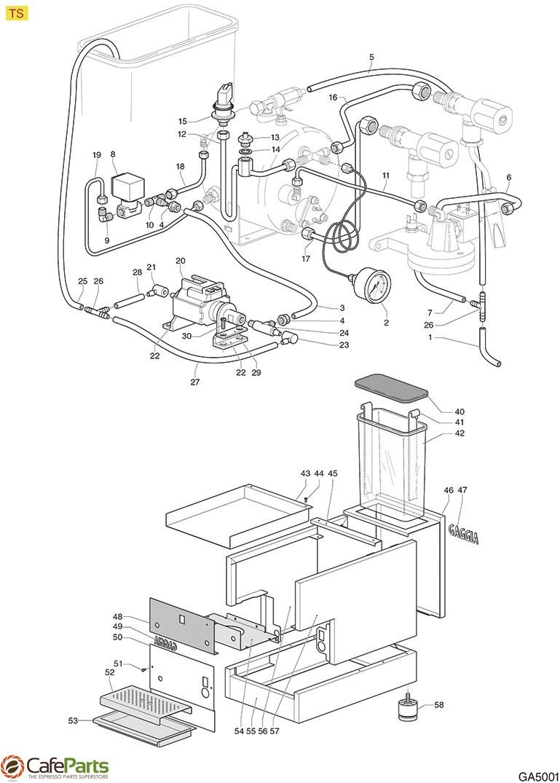 GA5001 pressure switch xp110 125 0 5 1 2 bar 1 4\